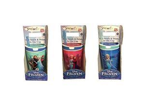 Snackeez Jr. in Red ~ Disney Elsa & Anna (2 in 1 Drink and Snack in One Cup)