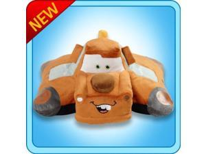 "Pillow Pets Tow Mater (Cars) - Authentic Disney 18"" Large Folding Plush Pillow"