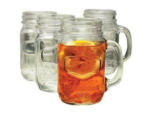 Yorkshire Mason Jar Mug, Set of 12