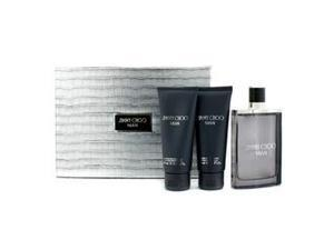 Jimmy Choo - Man Coffret: Eau De Toilette Spray 100ml/3.3oz + After Shave Balm 100ml/3.3oz + All Over Shower Gel 3pcs