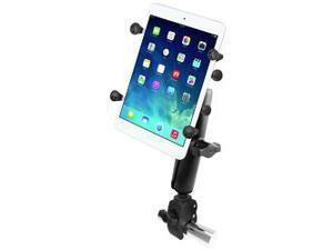 "RAM Mount Tough-Claw&#153 Base w/Long Double Socket Arm & Universal X-Grip&reg Cradle w/1"" Ball f/7"" Tablets"