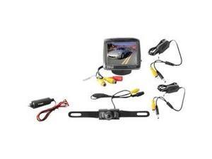 "PYLE PLCM34WIR 3.5"" Wireless Rearview Camera & Monitor System with Night Vision"