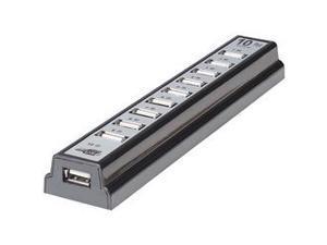 MANHATTAN 161572 10-Port USB 2.0 Desktop Hub