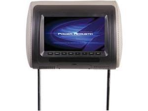 "POWER ACOUSTIK H-71CC Universal Headrest Monitor with IR Transmitter (7"")"