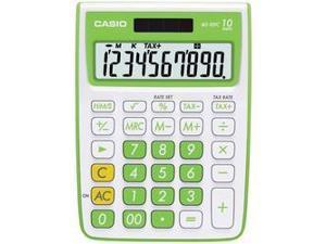 CASIO MS-10VC-GN 10-Digit Calculator (Green)