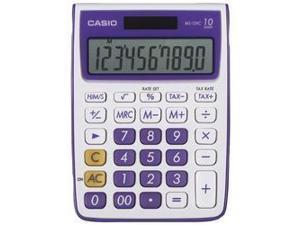 CASIO MS-10VC-PL 10-Digit Calculator (Purple)