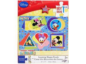 Disney My 1st Learning Shapes Puzzle [21 PCS]
