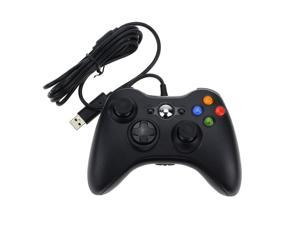 Wemelody Wired USB Game Pad Controller For MICROSOFT Xbox 360 (Black)