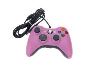 Wemelody Wired USB Game Pad Controller For MICROSOFT Xbox 360 (Pink)