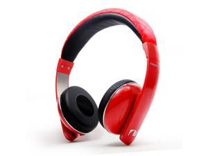 Nakamichi NK2010 Series - On The Ear Headphones - Red