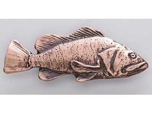 Copper ~ China Rockfish ~ Lapel Pin / Brooch ~ SC068