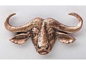 Copper ~ Cape Buffalo ~ Lapel Pin / Brooch ~ MC090