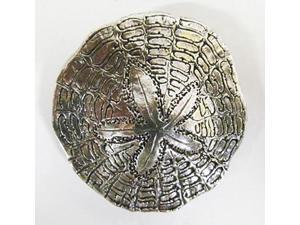 Pewter ~ Sand Dollar ~ Lapel Pin / Brooch ~ A161