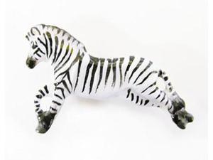 Painted ~ Zebra Full Body ~ Lapel Pin / Brooch ~ MP113F