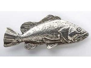 Pewter ~ Black Rockfish ~ Lapel Pin / Brooch ~ S067
