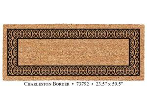 Elegant Entrance Mat 24 x 60 Charleston Border Double Door Mat