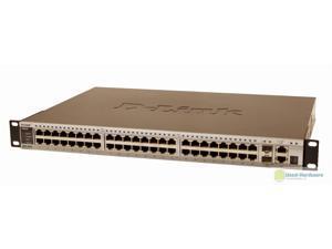 D-Link DES-3552 xStack 48-Port 10/100BASE-T & 4 Gigabit Combo BASE-T SFP Switch