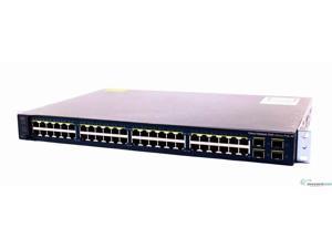 Cisco WS-C3560V2-48PS-E Catalyst 3560V2 48 Ports 10/100 with PoE & 4 SFP Switch