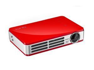 Vivitek - Qumi Q5 LED DLP Pocket Projector - RedModel:  QUMI Q5-RD