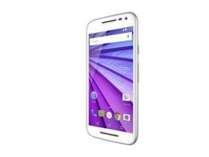 Motorola Moto G (3rd Generation) - White - 8 GB - Global GSM Unlocked Phone