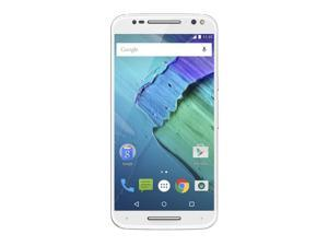 Moto X Pure Edition Unlocked Smartphone, 64GB White/Bamboo (U.S. Warranty) Smart Cell Phone Motorola