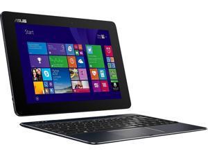 "ASUS Transformer Book T100-CHI-C1-BK(M) - 10.1"" 2-in-1 Laptop/Tablet Combo - Intel Atom Z3775 / 2GB RAM / 64GB eMMC / Intel HD Graphics / Windows 8.1 - Dark Blue"