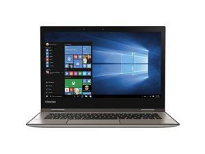 """Toshiba - Satellite Radius 12 2-in-1 12.5"""" Touch-Screen Laptop - Intel Core i5 - 8GB Memory - 256GB Solid State Drive - Brushed MetalModel: P25W-C2302 4K Notebook PC Computer Touchscreen Tablet"""