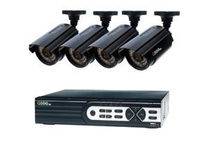 Q-SEE HeritageHD Series Wired 8-Channel 1080p 2TB Video Surveillance System with (4) 1080p Cameras and 100 ft. Night Vision HD QTH82-4CN-2 Security Camera System