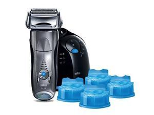 Braun Series 7 790cc-4 Electric Foil Shaver and Clean and Renew Cartridge Refills