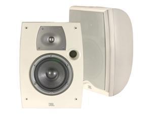 """JBL Northridge N26AW II 2-way, 6"""" Weather-Resistant Bookshelf Speakers - Off White (Pair)Audio"""
