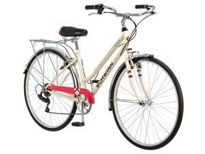 "Schwinn Women's S3045TR Fahrenbrook Hybrid Bike , 16""/Small, Cream Cycling Bicycle Cycle"