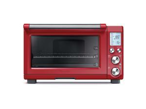 Breville BOV800CRNXL Smart Oven 1800-Watt Convection Toaster Oven with Element IQ (Cranberry)
