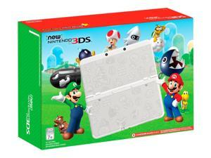 Nintendo 3DS Super Mario White Edition - Nintendo 3DS Game Console System