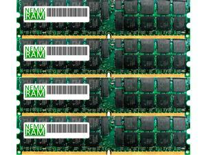 NEMIX RAM 64GB (4 x 16GB) DDR3-1600MHz PC3-12800 240-pin 1.35V 2Rx4 ECC Registered Server Memory Module