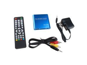 Mini 1080P USB SD MMC HD AV Port TV Multi Media Player-MKV/RM-SD/USB HDD-HDMI