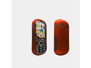 Verizon Soft Touch Snap On Cover for Samsung IntensityII - Orange