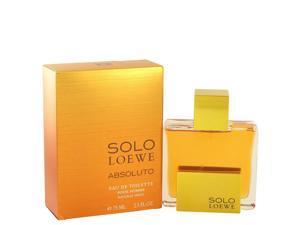 Solo Loewe Absoluto by Loewe for Men - Eau De Toilette Spray 2.5 oz