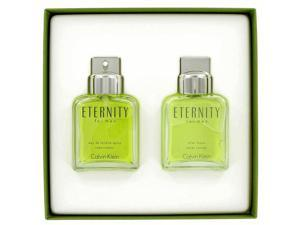 ETERNITY by Calvin Klein for Men - Gift Set -- 3.4 oz Eau De Toilette Spray + 3.4 oz After Shave
