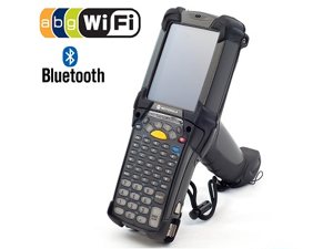 Motorola MC9090 Barcode Scanner (part#: MC9090-GK0HBEGA2WR ) Wireless Mobile Computer, Wifi, Bluetooth Enabled, 2D abd 1D Hybrid Barcode Reader QR Code, Windows CE 5.0 Pro OS