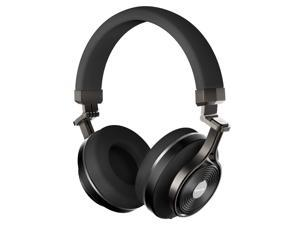 Bluedio T3 Plus (Turbine 3rd ) Wireless Bluetooth 4.1 Stereo Headphones with Mic/Micro SD Card Slot (Black)