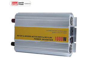NEW 1000W Car power inverter transformer System Power Inverter 12DC to 220V AC Adapter USB Car Inverter Power Supply
