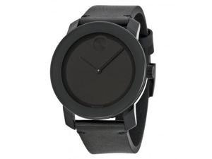 Movado Bold Leather Unisex Watch 3600306