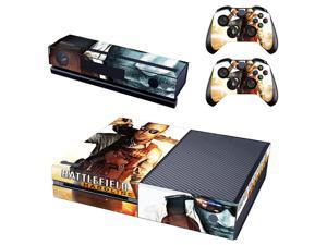 eXtremeRate® Battle Sticker Decal Skin Cover for Microsoft Xbox One Console Controller Kinect