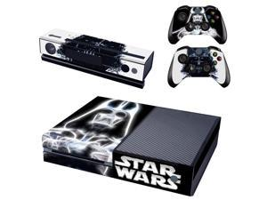eXtremeRate® Star War Sticker Decal Skin Cover for Microsoft Xbox One Console Controller Kinect