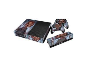 eXtremeRate® Chucky Sticker Decal Skin Cover for Microsoft Xbox One Console Controller Kinect