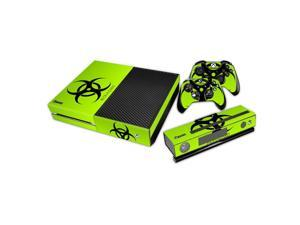 eXtremeRate® Biohazard Removable Sticker Decal For Xbox One Kinect Console Controller
