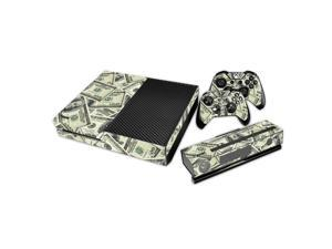 eXtremeRate® Dollar Money Sticker Decal Skin Cover for Microsoft Xbox One Console Controller Kinect