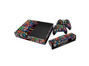 eXtremeRate® Revenge Sticker Decal Skin for Microsoft Xbox One Console Controller Kinect