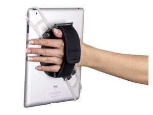 Aleratec 2-in-1 Tablet Stand Holder and Hand Strap for Tablets 7 to 10 in