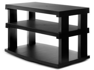 Aleratec LCD/LED TV Swivel Stand 3-Tier Entertainment Center Configurable Height